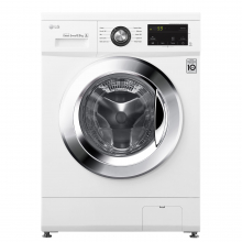 Masina spalat rufe Slim LG F2J3WN5WE, 6.5 kg, 1200 RPM, Clasa A+++, Inverter Direct Drive, Smart Diagnosis, Alb