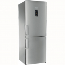 Combina Frigorifica Hotpoint ENBGH 19223 FW, 450 l, Clasa energetica A+, inaltime 195.5 cm, Full No Frost, Inox