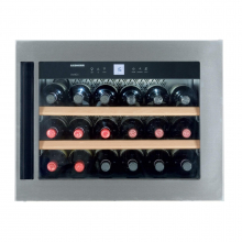 Vitrina de vin built-in Liebherr WKEes 553, 47 L, clasaA, LED