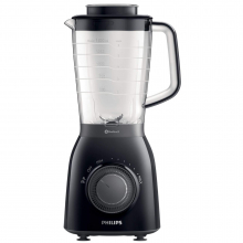 Blender Philips Viva Collection Problend 5 HR2162/90, 600 W, 1.5 l, 2 Viteze, Functie impuls, Negru