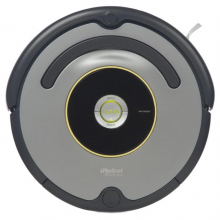 Robot de aspirare iRobot Roomba 616, Antiangle, Wall Follow, Program SPOT, Argintiu/Negru