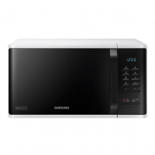 Cuptor cu microunde Samsung MS23K3513AW, 23 L, 800 W, Quick Defrost, Touch control, Alb
