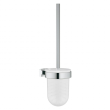 Set perie WC Grohe Essentials Cube, Crom