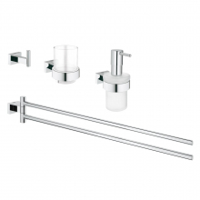 Set accesorii 4 in 1 baie Grohe Essentials Cube