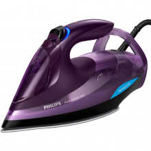 Fier de calcat Philips Azur Advanced GC4934/30, 3000 W, Talpa SteamGlide Plus, Tehnologie OptimalTEMP, 55 g/min, Detartrare Rapida, Mov