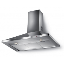 Hota decorativa tip semineu Faber STRIP SMART LED EV8 X A90, 740 mc/h, flitru aluminiu, clasa B, Inox