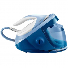 Statie de calcat Philips PerfectCare Expert Plus GC8942/20, talpa Steam Glide Advanced, 120 g/min, 480 g abur, 7.5 bar, 1.8 L, Alb/Albastru