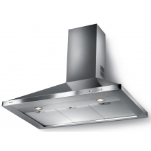 Hota decorativa semineu Faber STRIP SMART LED EV8 X A60, 740 mc/h, flitru aluminiu, 60 cm, Inox
