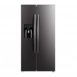 Side by side Toshiba GR-RS508WE-PMJ, 490 L, A++, No-Frost, Dispenser apa/gheata, Gri mat